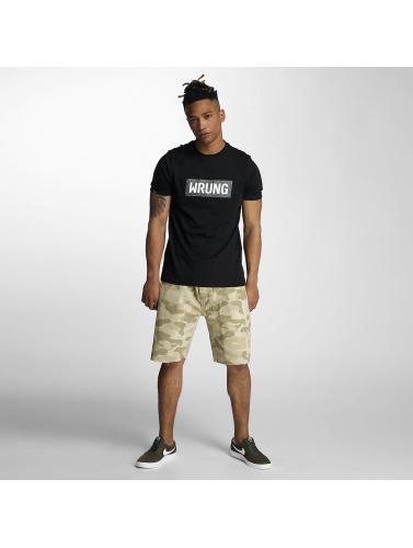 Wrung Division Herren T-Shirt Box in schwarz