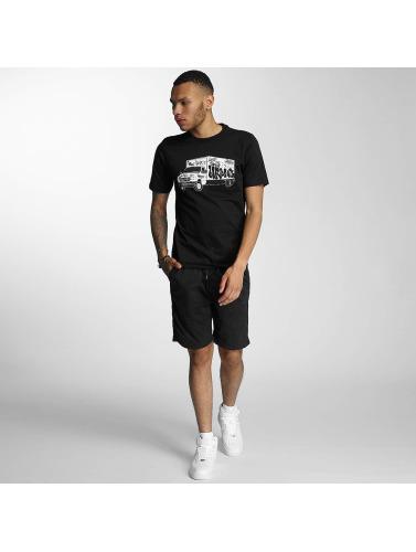Wrung Division Herren T-Shirt Truck in schwarz