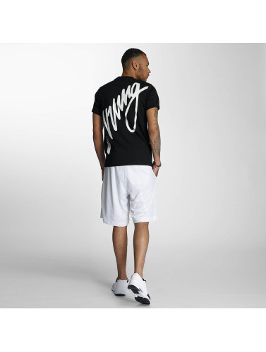 Wrung Division Herren T-Shirt Black Sign in schwarz