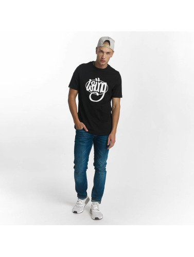 Wrung Division Herren T-Shirt Original in schwarz