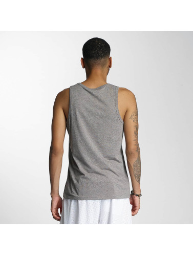 Wrung Division Hombres Tank Tops Signed in gris