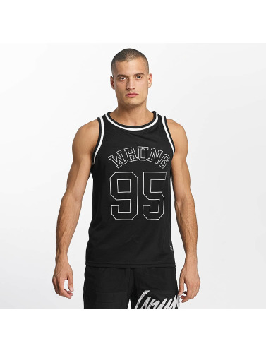 Wrung Division Hombres Tank Tops Teamster in negro