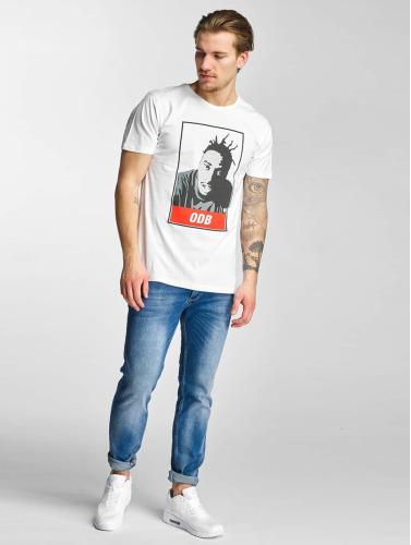 Wu-Tang Hombres Camiseta ODB in blanco