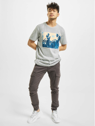 Wu-Tang Hombres Camiseta Chess in gris