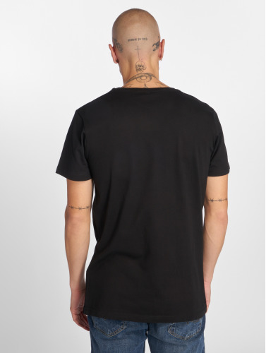 Wu-Tang Hombres Camiseta Masks in negro