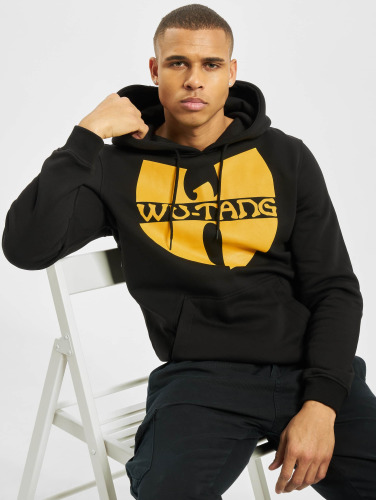 Wu-Tang Herren Hoody Logo in schwarz
