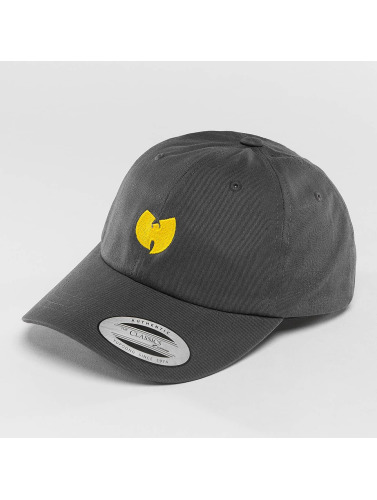 Wu-Tang Snapback Cap Logo Dad in grau