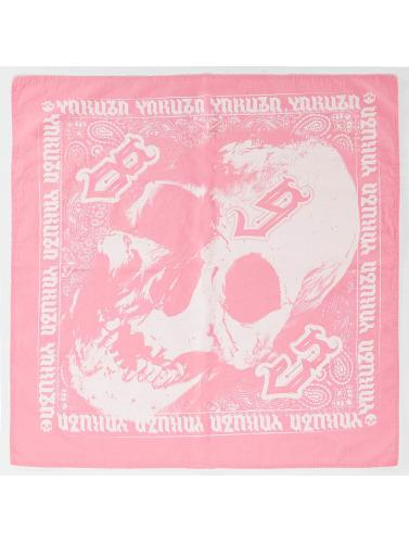 Yakuza Herren Bandana Skull in pink
