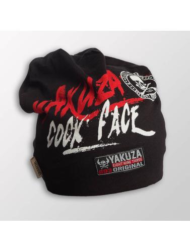 Yakuza Beanie Cock Face in schwarz