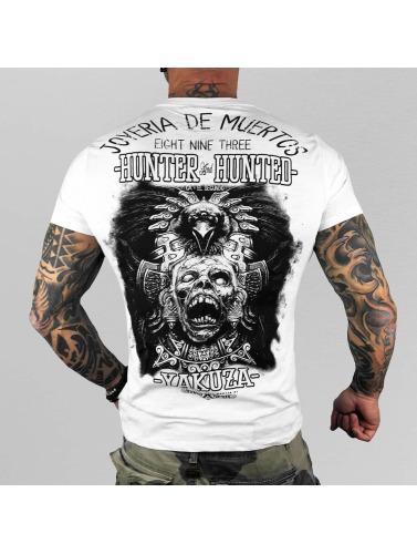 Yakuza Hombres Camiseta Hunter And Hunters in blanco