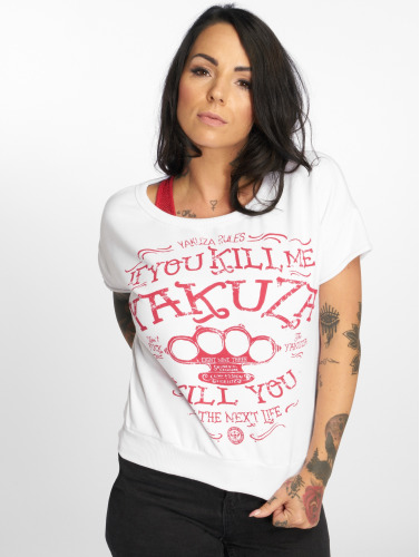 Yakuza Mujeres Camiseta Kill Me in blanco