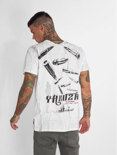 Yakuza Hombres Camiseta Blaze N Glory in blanco