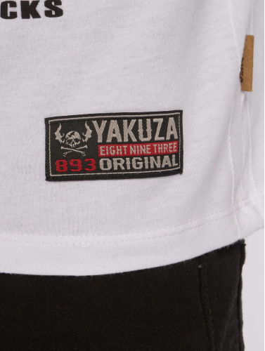 Yakuza Menn I Hvite Skjorter Fanstasias billig 100% RKGJ4