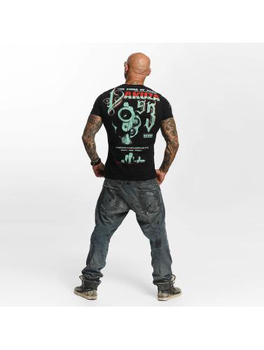 Yakuza Hombres Camiseta Havoc in negro