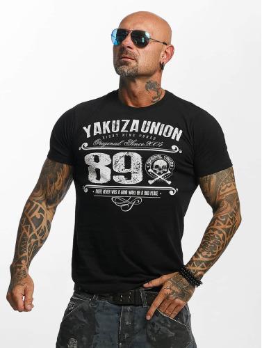 Yakuza Hombres Camiseta 893 Union in negro