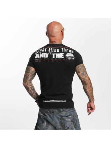Yakuza Hombres Camiseta PAIN in negro