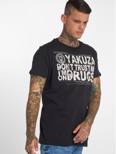 Yakuza Hombres Camiseta Trust in negro