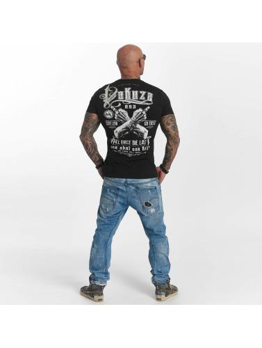 Yakuza Hombres Camiseta One Shot in negro