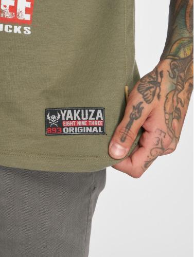 Yakuza Hombres Camiseta Fanstasias in verde