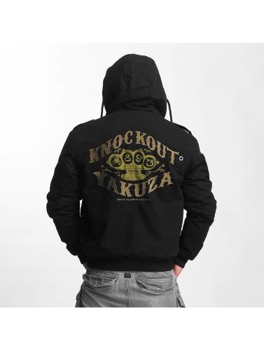 billig Eastbay salg bla Yakuza Vinterjakke Menn I Svart Militære Knockout utløp gratis frakt billig klassiker hCnOldD