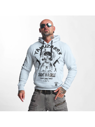 Yakuza Herren Hoody Caught In A Circle in blau