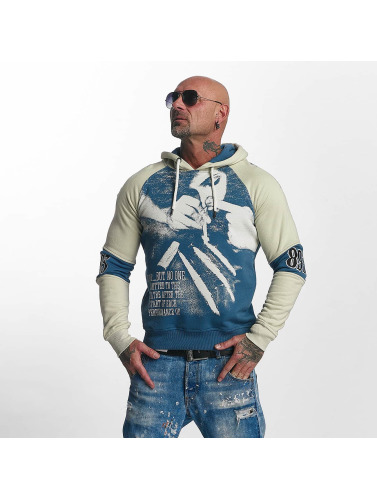 Yakuza Herren Hoody Snorting Two Face in blau