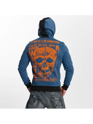 Yakuza Herren Hoody 893 Union in blau