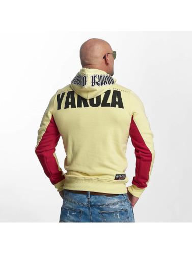 Yakuza Herren Hoody Chockin Victim in gelb