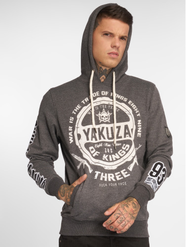 Billig Verkauf Neue Stile Yakuza Herren Hoody Trade Of Kings in grau Austrittskosten o5m4G