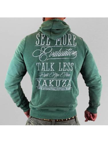 Yakuza Herren Hoody Evaluation in grün