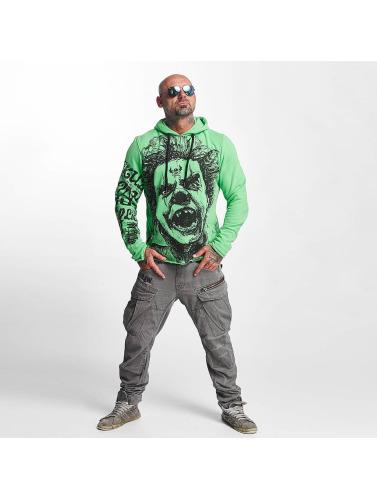Yakuza Herren Hoody Allover King in grün