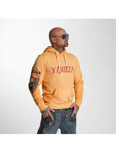 Yakuza Herren Hoody Brute Devil in orange