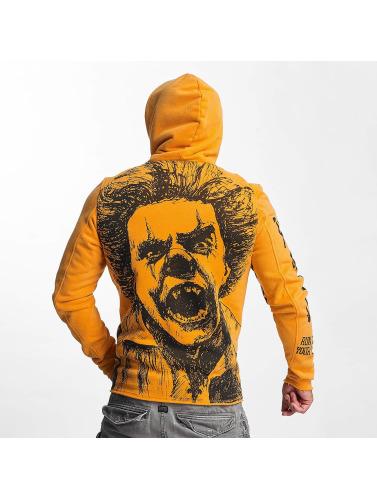 Yakuza Herren Hoody Allover King in orange  Um Online Kaufen Marktfähig Steckdose Zuverlässig iDmBFpOu