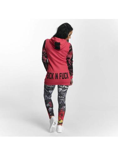 Yakuza Damen Hoody Sick N Fuck Flex in pink