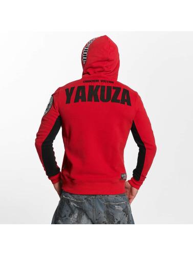 Yakuza Herren Hoody Chockin Victim in rot
