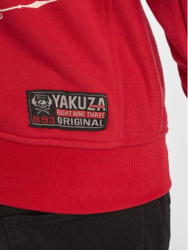 Yakuza Herren Hoody Undead in rot