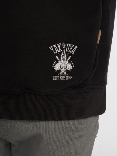 Yakuza Herren Hoody Crow in schwarz