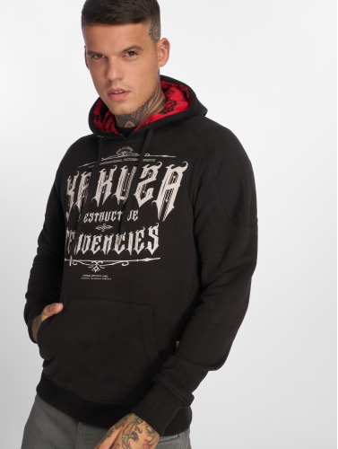 Yakuza Herren Hoody Destructive Tendencies in schwarz