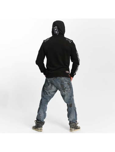Yakuza Herren Hoody Trade Of Kings in schwarz