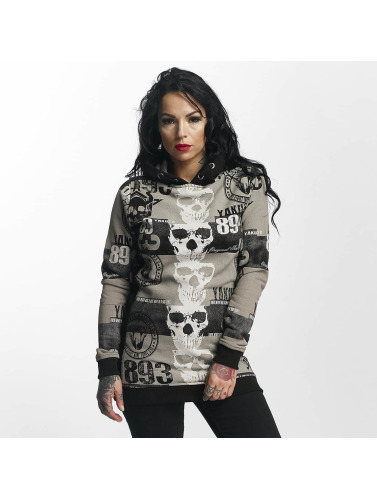 Yakuza Damen Hoody Reel Flex in schwarz