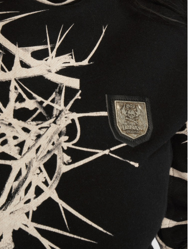 Yakuza Damen Hoody Thorns Flex in schwarz