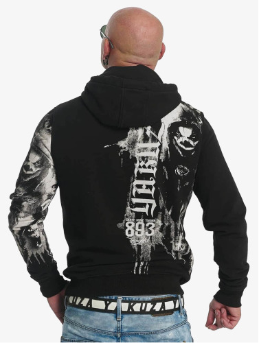 Yakuza Herren Hoody Waiting Death in schwarz