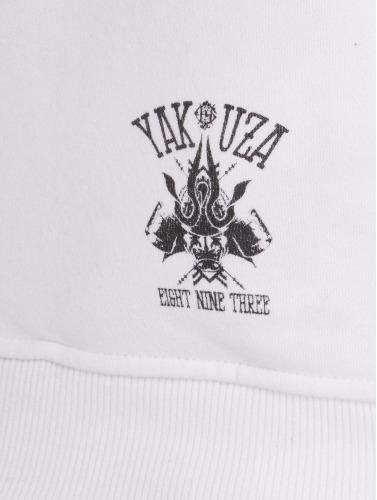 Yakuza Herren Hoody F.W.F. in weiß