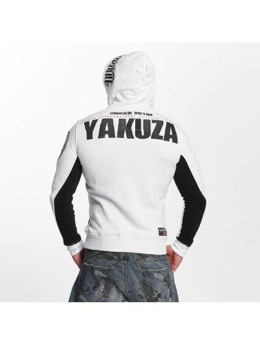 Yakuza Herren Hoody Chockin Victim in weiß
