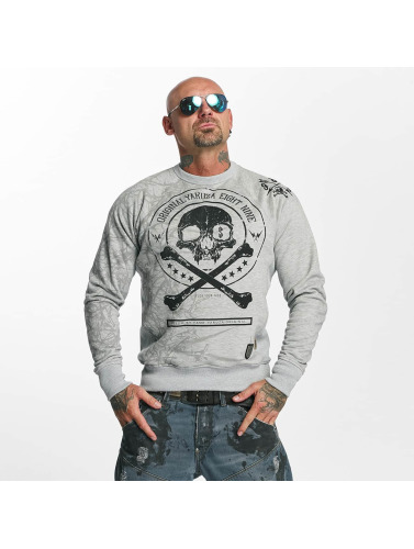 Yakuza Hombres Jersey Thorns in gris