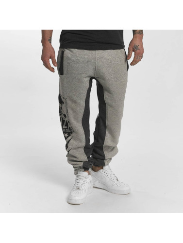 Yakuza Herren Jogginghose Two Face in grau