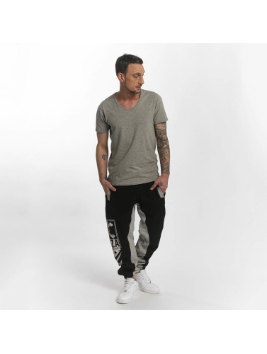 Yakuza Herren Jogginghose Two Face in schwarz