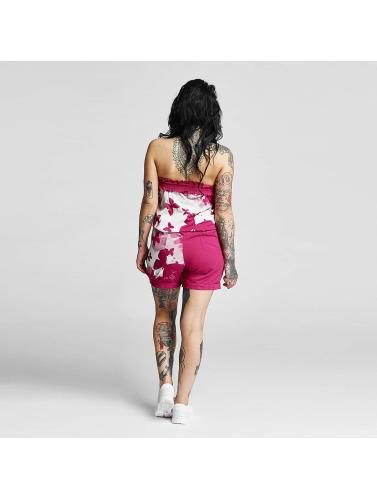 Yakuza Damen Jumpsuit Butterfly in pink