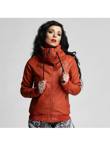 Yakuza Damen Lederjacke One Love Faux Leather in rot Rabatt Günstiger Preis cLexK