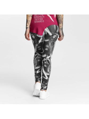 Yakuza Mujeres Legging/Tregging Allover Snake II in negro